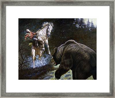 Bushwacked Framed Print by Gregory Perillo