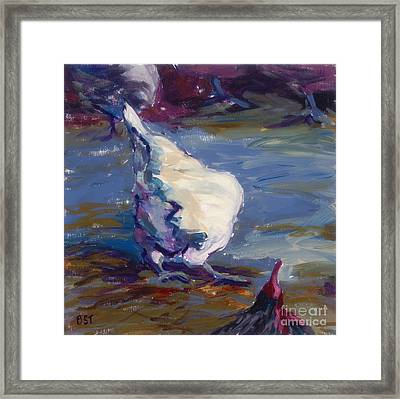 Business End Framed Print by Betsee  Talavera