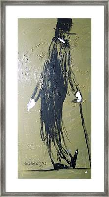 Business Man Framed Print