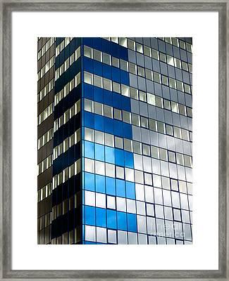 Business Tower Framed Print