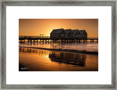Busselton Sunset Framed Print