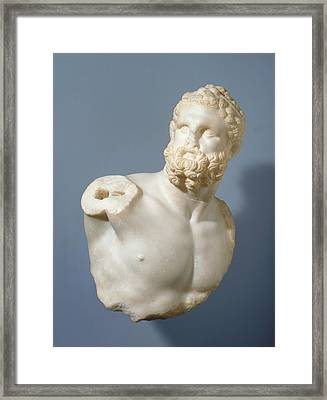 Bust Of A Pugilist And Detached Fragments 2 Unknown Framed Print