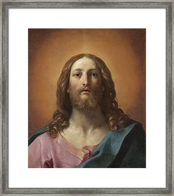 Bust Of Christ Framed Print