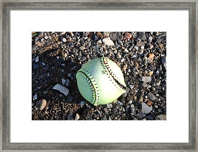 Busted Stitches Framed Print by Bill Cannon