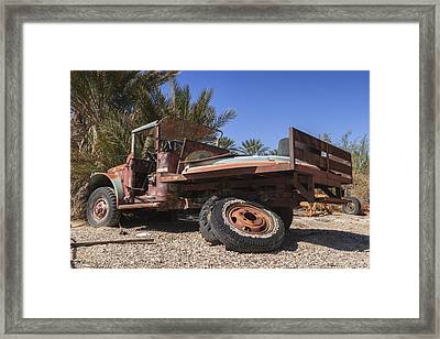 Busted Willys Mb Color Framed Print by Scott Campbell