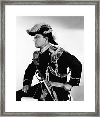Buster Keaton, Mgm Publicity Shot, 1932 Framed Print