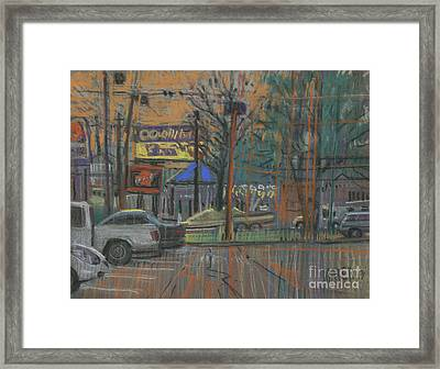 Busy Day Framed Print by Donald Maier