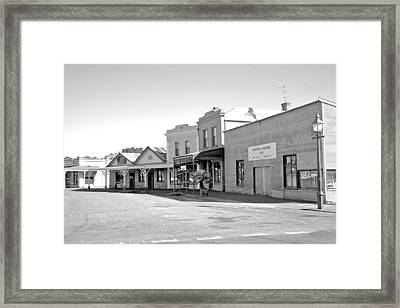 Busy Day Framed Print by Lee Stickels