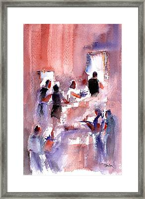 Busy Kitchen Framed Print by Paul K Taylor