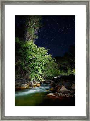Framed Print featuring the photograph Busy Night by David Andersen
