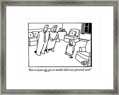 But Everyone Else Gets To Market Their Own Framed Print