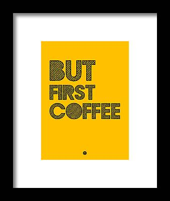Funny Coffee Framed Prints