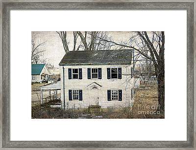 But I Still Live Here Framed Print by Luther Fine Art