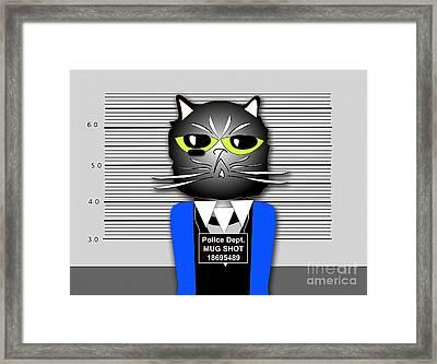 But Im Innocent Framed Print by Marvin Blaine