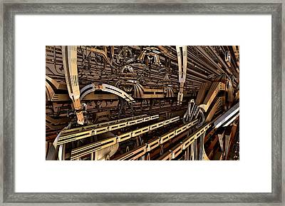 But Im Not Addicted To Fractals  Really Framed Print