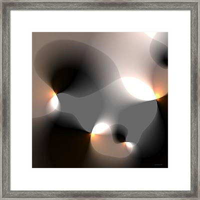 But Framed Print
