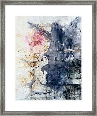 But They Always Came Back To Haunt Us Framed Print by Jain McKay