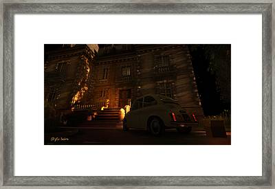 But You Can Never Leave Framed Print by Kylie Sabra
