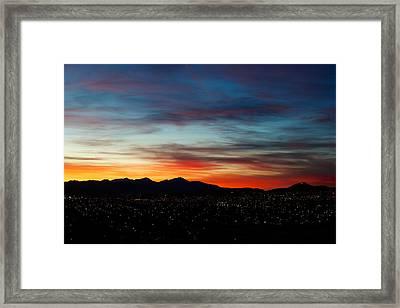 Butte America Framed Print by Kevin Bone