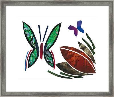 Butterflies Framed Print by Earl ContehMorgan