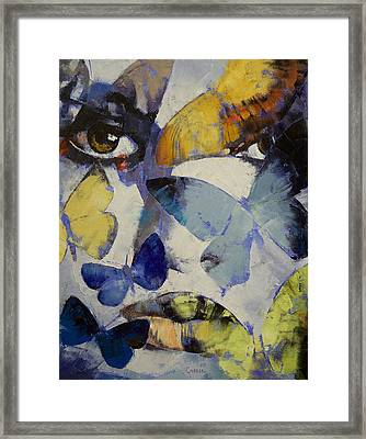 Butterflies Framed Print by Michael Creese