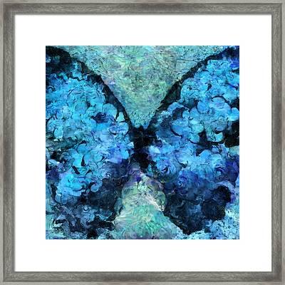 Butterfly Art - D11bl02t1c Framed Print