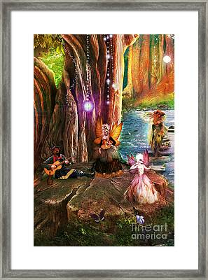 Butterfly Ball Party Framed Print