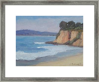 Butterfly Beach Afternoon Series 4 Framed Print
