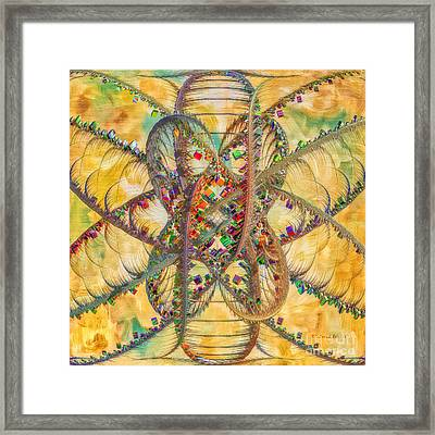Butterfly Concept Framed Print