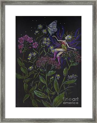 Butterfly Framed Print by Dawn Fairies