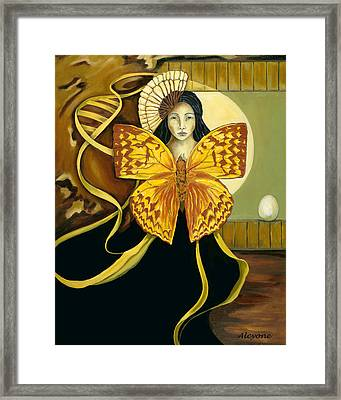Butterfly Dreaming Framed Print