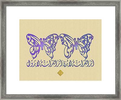 Butterfly Effect 2 Framed Print