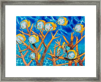 Butterfly  Fish Framed Print by Daniel Jean-Baptiste