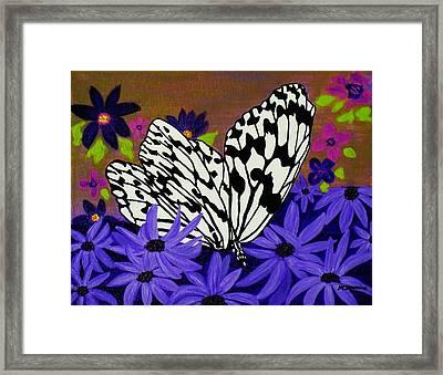 Butterfly Heaven Framed Print
