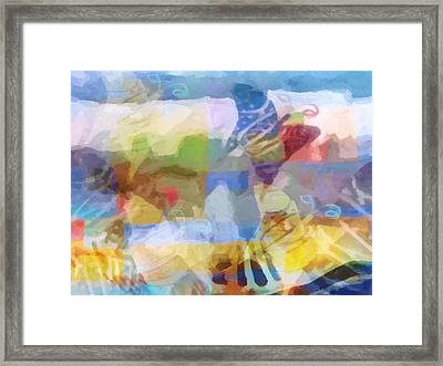 Butterfly Imagination Framed Print