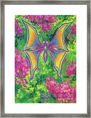 Butterfly Framed Print by Jedidiah Morley