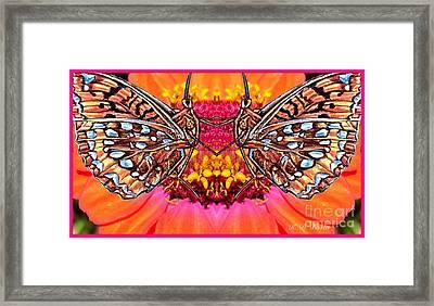 Butterfly Jig Framed Print