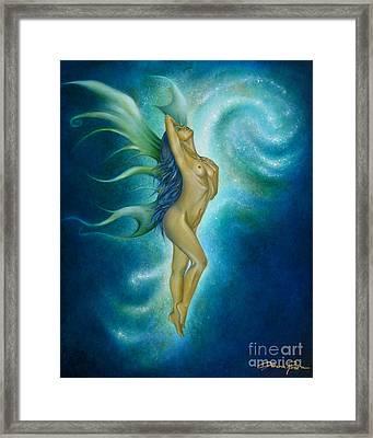 Butterfly Framed Print by Lorena Rivera