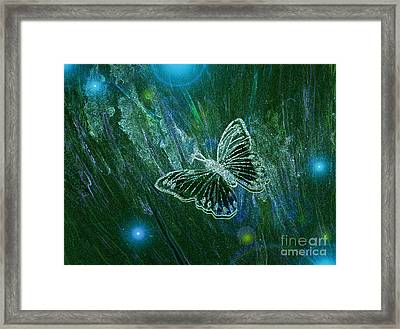 Butterfly Magic By Jrr Framed Print