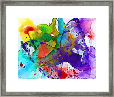 Butterfly Magic Framed Print by Kume Bryant