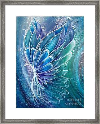Butterfly Magic Framed Print by Reina Cottier
