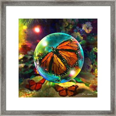 Butterfly Monarchy Framed Print