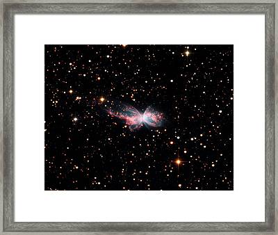 Butterfly Nebula (ngc 6302) Framed Print by Damian Peach