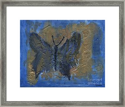 Butterfly Of The Ancients Framed Print
