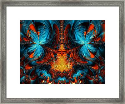 Butterfly Plasma  Framed Print by Ian Mitchell