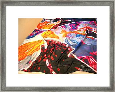 Butterfly Scaef Framed Print by Duygu Kivanc