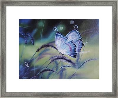 Butterfly Series #3 Framed Print