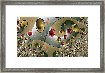 Butterfly Storm Framed Print