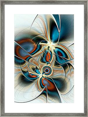 Butterfly Vision Framed Print