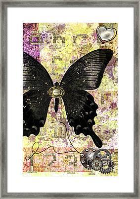 Butterfly Wish Framed Print by Gillian Singleton